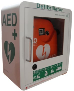 Why lifesaving AED's should not be kept in locked cabinets…